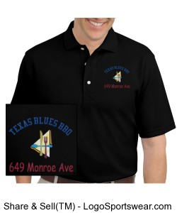 50/50 Jersey Knit Polo with SpotShield Stain Resistance Design Zoom